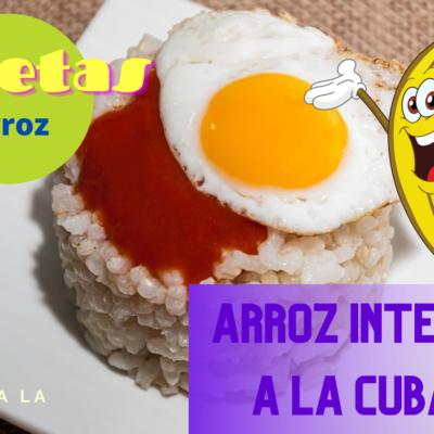 arroz a la cubana receta